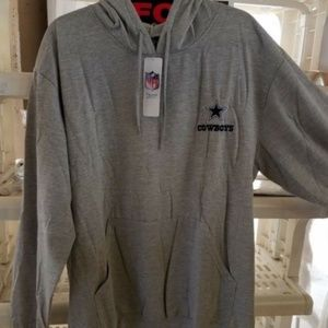 NFL SI Dallas Cowboys pullover Hoodie Pouch XL